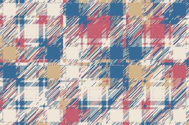 Fond de pépin moderne. motif abstrait géométrique de couleur. damage lines glitches effet fond d'écran. plaid de texture grunge.