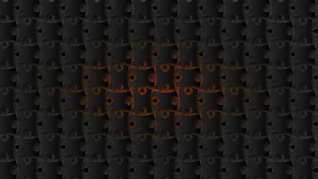 Fond de pièces de puzzle modernes