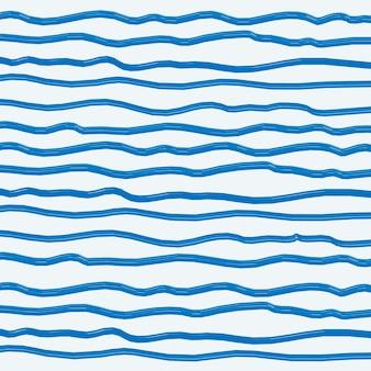 Fond de pinceau abstrait bleu