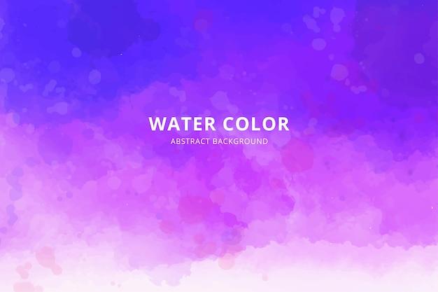 Fond de pinceaux de couleur aquarelle abstraite