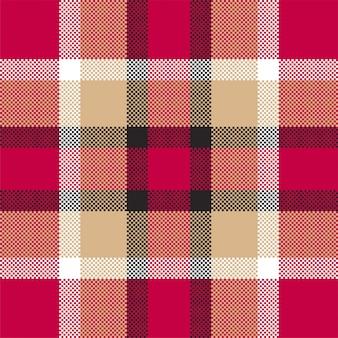 Fond de pixel. plaid de modèle sans couture moderne. . textile écossais tartan. ornement de madras de couleur de beauté.