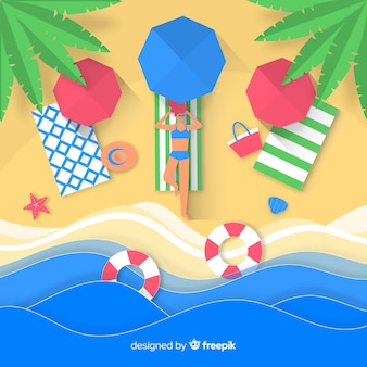 Fond de plage
