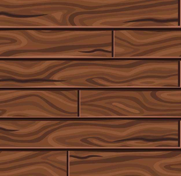 Fond de planches horizontales en bois