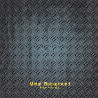 Fond de plaque métallique