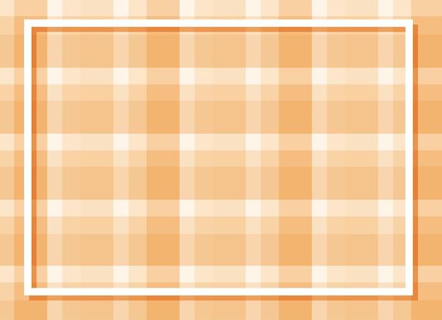 Fond plaqué orange avec cadre