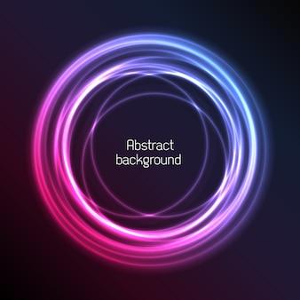 Fond de plasma abstrait