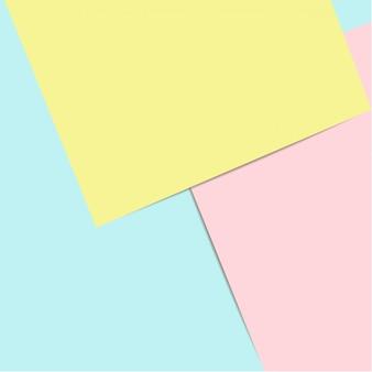 Fond plat de papier