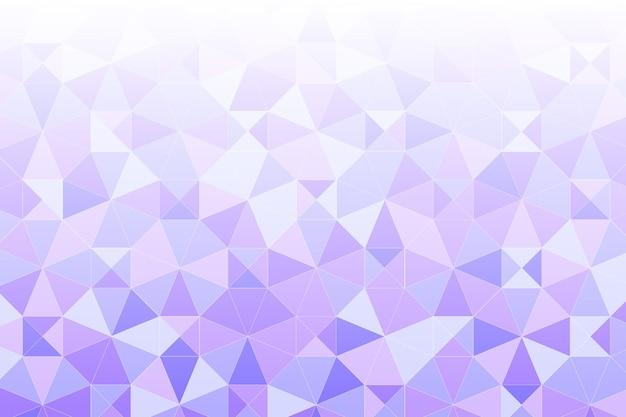 Fond plat polygonal