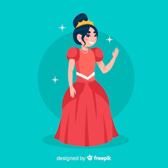 Fond plat princesse
