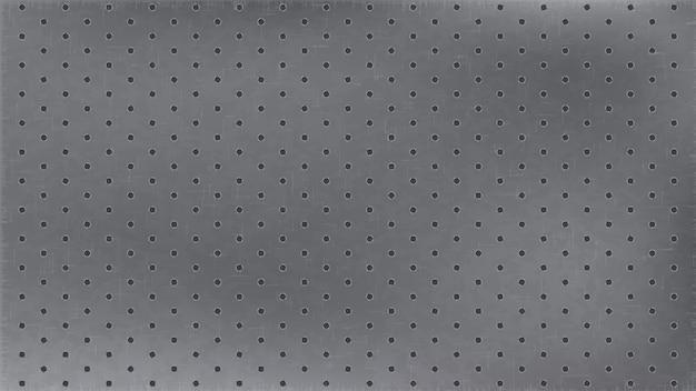 Fond pointillé en acier inoxydable. carbone sans soudure de fond clair monochrome.
