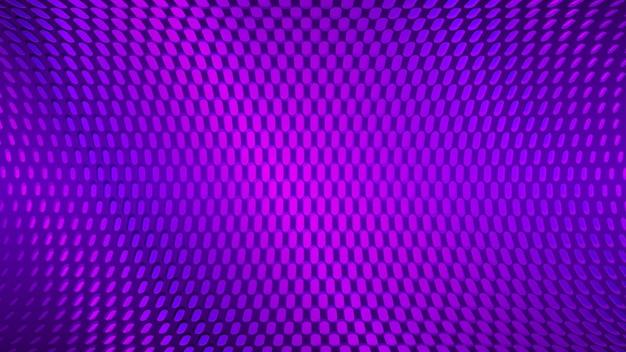 Fond de points abstraits dans des couleurs violettes