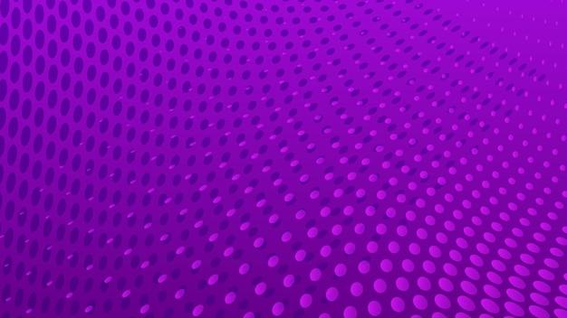 Fond de points de demi-teintes abstraites dans des couleurs violettes