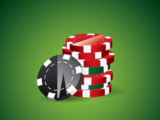 Fond de poker vert