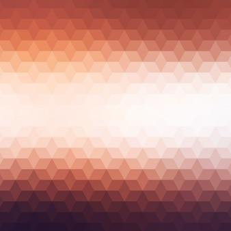 Fond polygonal dans des tons bruns