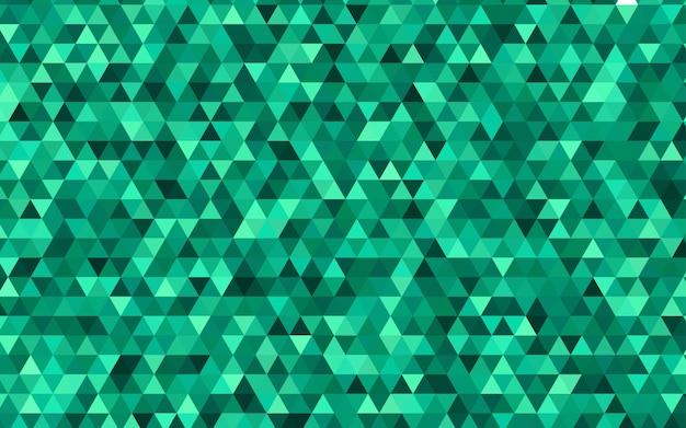 Fond polygonale abstrait vecteur vert clair