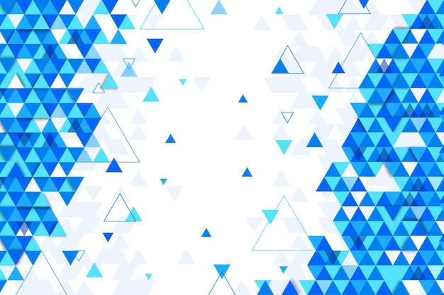 Fond Polygonale Design Plat Vecteur gratuit
