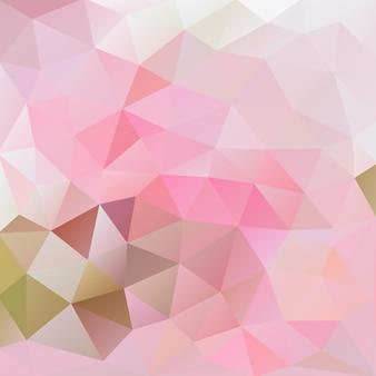 Fond polygonale rose et gris de flamingo