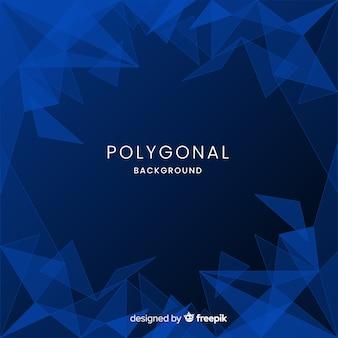 Fond polygonale