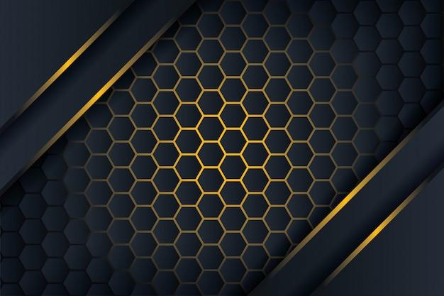 Fond de polygone 3d.