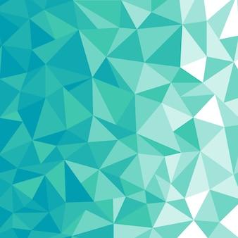 Fond de polygone bleu ciel