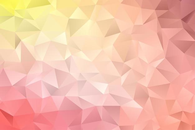 Fond de polygone géométrique. fond d'écran diamant. motif élégant de couleur douce