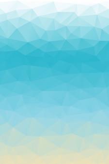 Fond de polygone de sentiment de plage
