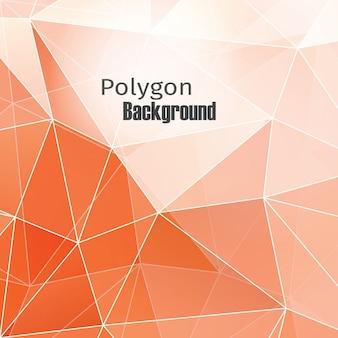 Fond de polygone