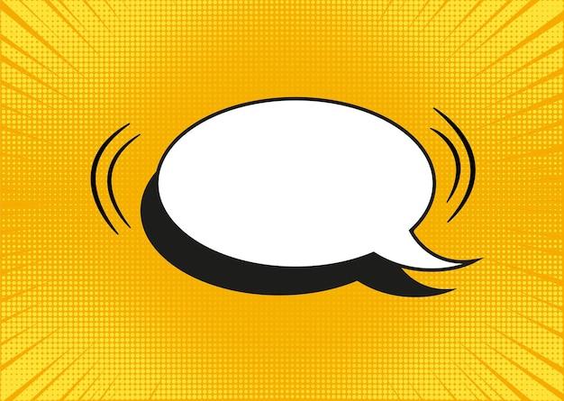 Fond de pop art. texture de demi-teinte jaune. illustration vectorielle.