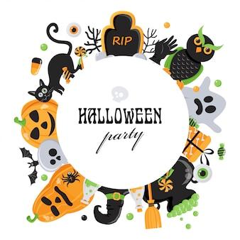 Fond pour la fête d'halloween