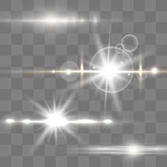 Fond de poussière d'or, d'étincelles et d'étoiles
