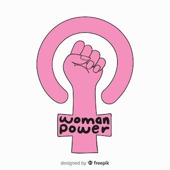Fond de pouvoir femme
