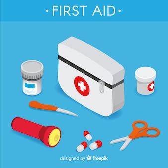 Fond de premiers secours