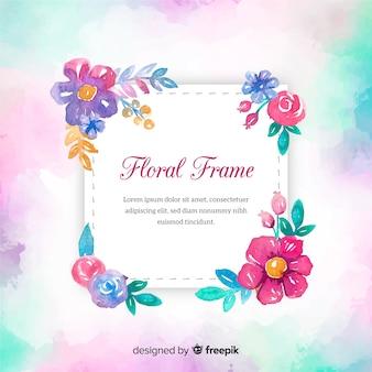 Fond de printemps aquarelle