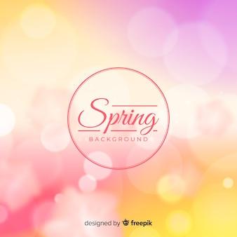 Fond de printemps brillant