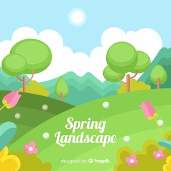 Fond de printemps mignon