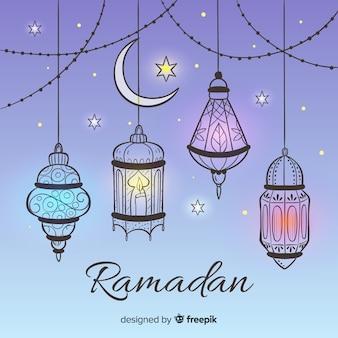 Fond de ramadan