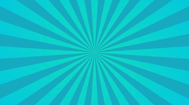 Fond de rayons bleus