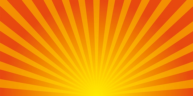 Fond de rayons de soleil.