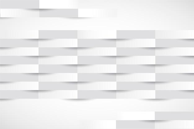 Fond de rayures 3d dans le style du papier