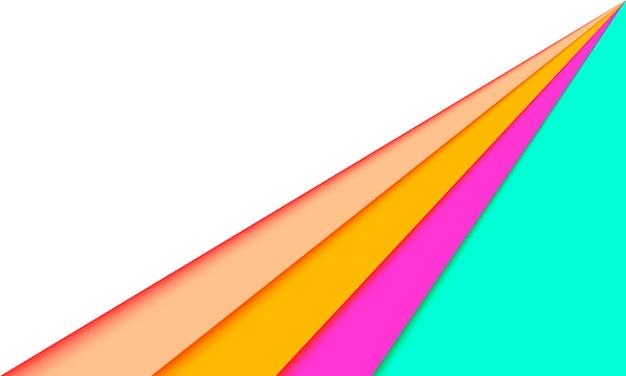 Fond de rayures colorées. design moderne pour les annonces et la bannière.