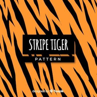 Fond de rayures de tigre