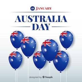 Fond réaliste australie jour