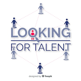 Fond de recherche de talent net