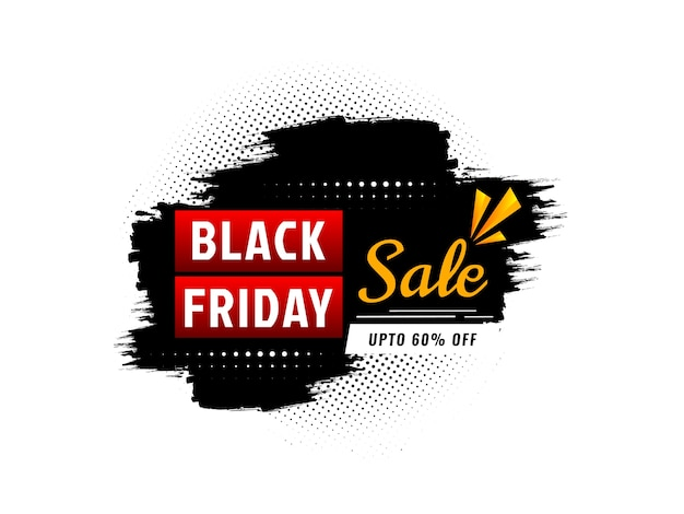 Fond de réduction de vente vendredi noir