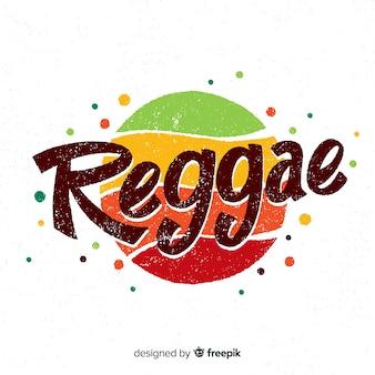 Fond de reggae à pois