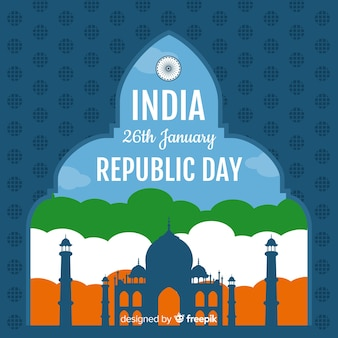 Fond république indienne