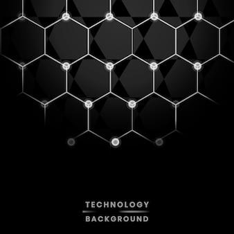 Fond réseau et technologie