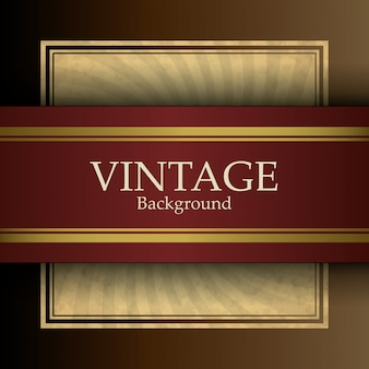 Fond rétro vintage