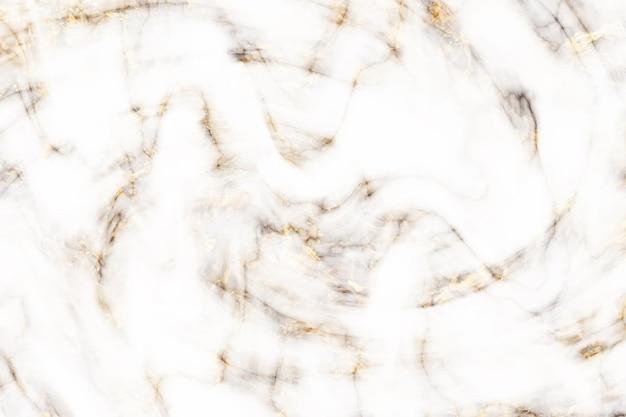 Fond de roche de marbre de luxe en or blanc