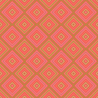 Fond rose avec des carrés